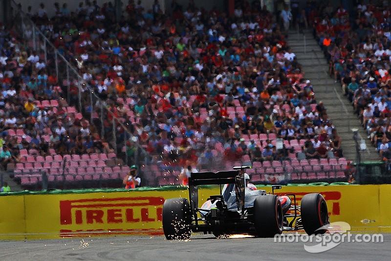 Button cambia varios componentes en su motor para la carrera
