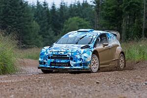 WRC Отчет о тестах Ford Fiesta WRC 2017 вышла на первые тесты