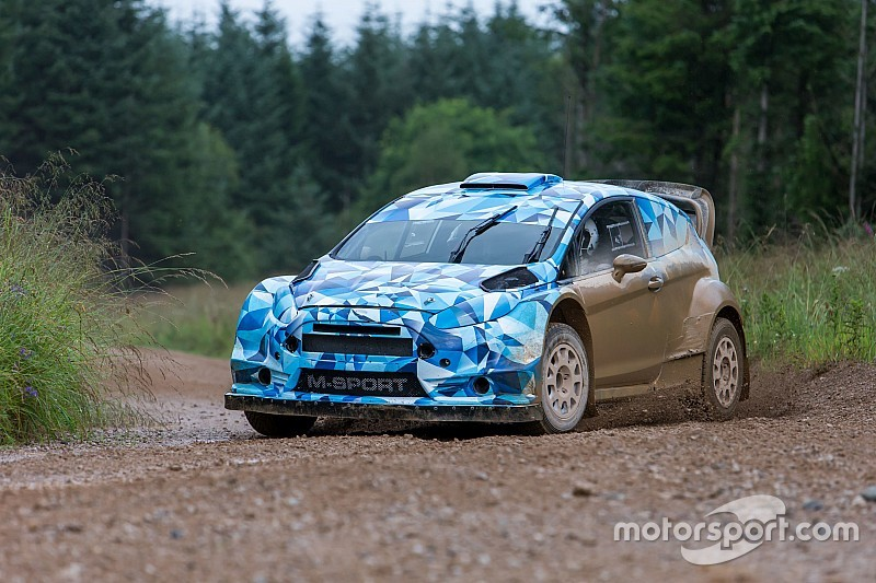 Ford Fiesta WRC 2017 вышла на первые тесты