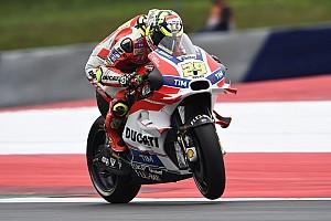 MotoGP 予選レポート MotoGPオーストリア予選:イアンノーネがPP獲得。巻き返すヤマハ、ロッシが2番手
