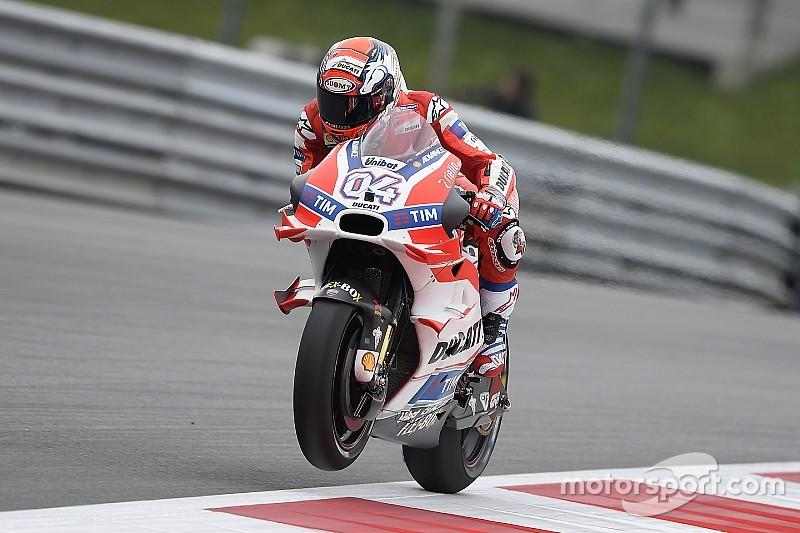 """Dovizioso glaubt an starkes Ducati-Rennen: """"Mit gebrauchten Reifen schnell"""""""