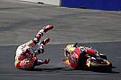 Маркес під час аварії у практиці отримав травму плеча