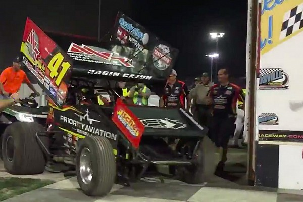Sprint Shatz dethroned as Jason Johnson wins the Knoxville Nationals