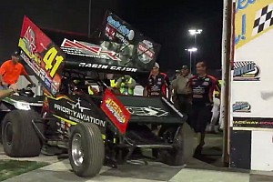 Sprint Race report Shatz dethroned as Jason Johnson wins the Knoxville Nationals