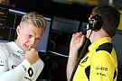 Magnussen veut rester avec Renault et vivre ses
