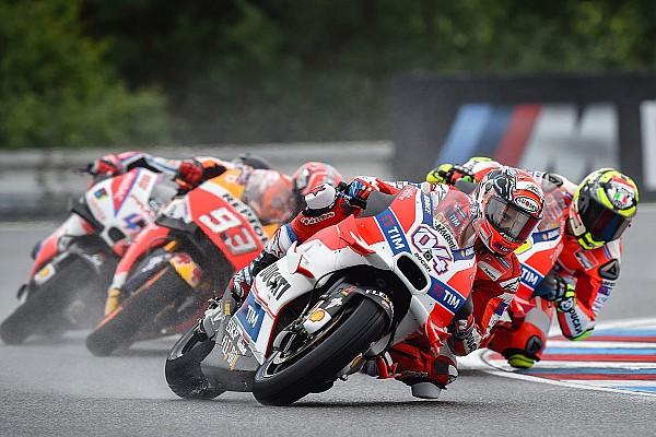 Michelin не контролирует ситуацию в дождевых гонках, считает Довициозо