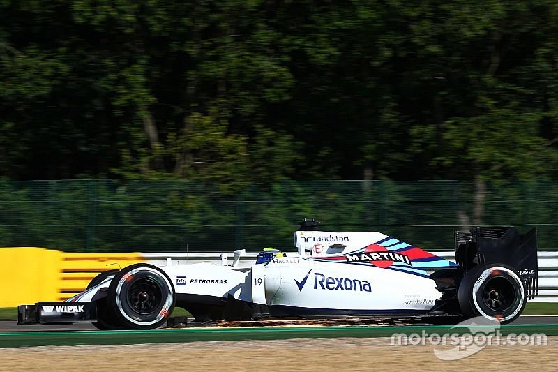 """Massa: """"Pressioni alte, la mia Williams galleggia"""". Pirelli: i team lo sapevano"""