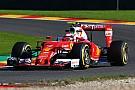 Spa, Libere 3: Raikkonen a sorpresa, Ferrari davanti alla Red Bull!