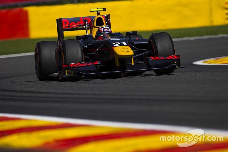 GP2 Spa: Gasly wint op Spa en neemt leiding over van Sirotkin