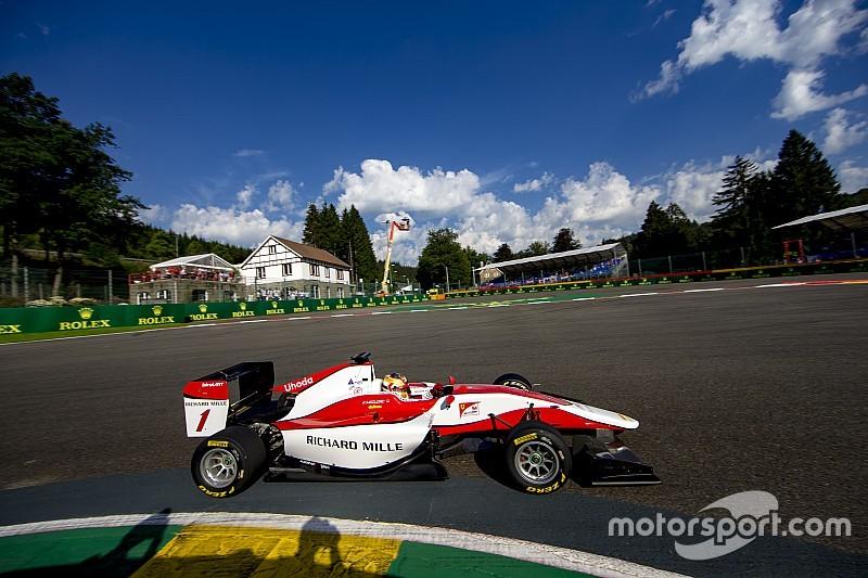 GP3 Spa: Leclerc heerst in België, P3 voor De Vries