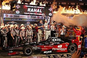 IndyCar Résumé de course Graham Rahal s'impose au Texas au bout d'une course folle!