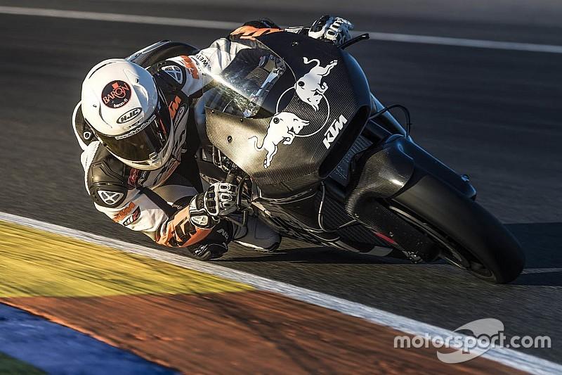 KTM capai kemajuan usai jalani tes Valencia