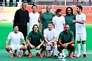 Galería: partido pilotos vs ex futbolistas por el terremoto de Italia