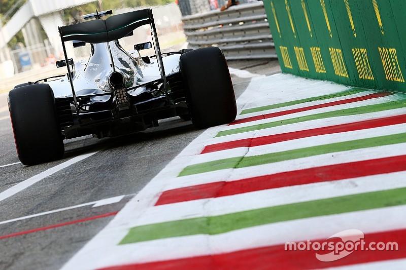 Rosberg deelt de lakens uit in eerste training Italiaans GP, Verstappen achtste