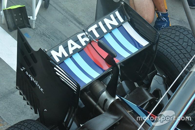Tech update: Williams past achtervleugel aan voor Monza