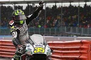 MotoGP Kwalificatieverslag Crutchlow pakt op kletsnat Silverstone de pole voor thuisrace