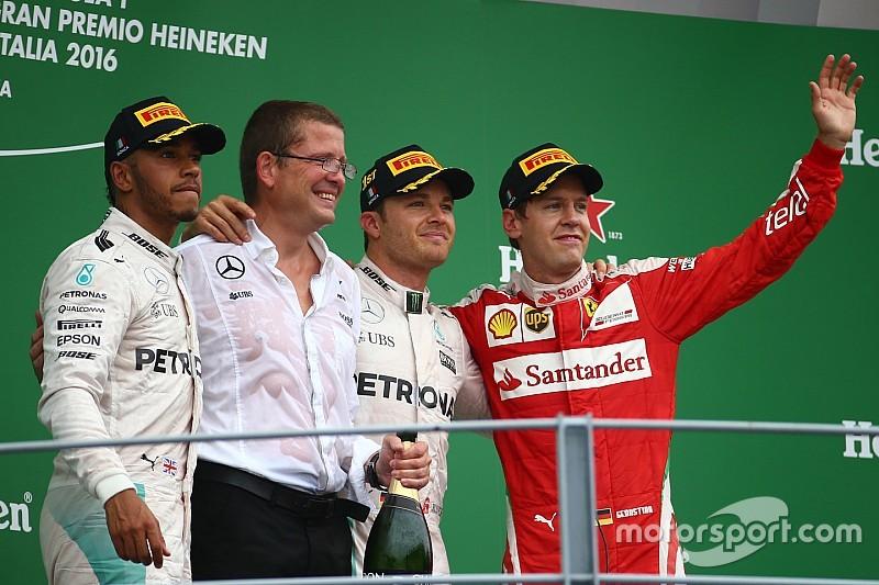 Росберг выиграл Гран При Италии