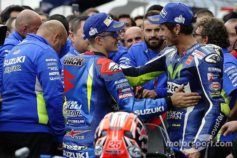 """Rossi: """"Ik maak mij zorgen over komst Viñales naar Yamaha"""""""