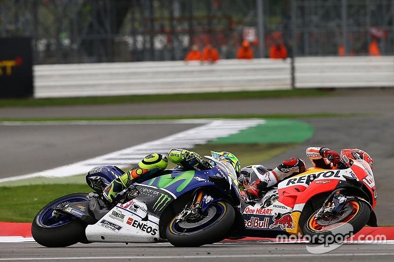 """Silverstone-Duell Rossi vs. Marquez: Kein Vergleich zum """"Sepang Clash"""""""