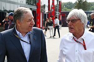 Formule 1 Actualités Les écuries minimisent l'éventuel départ d'Ecclestone