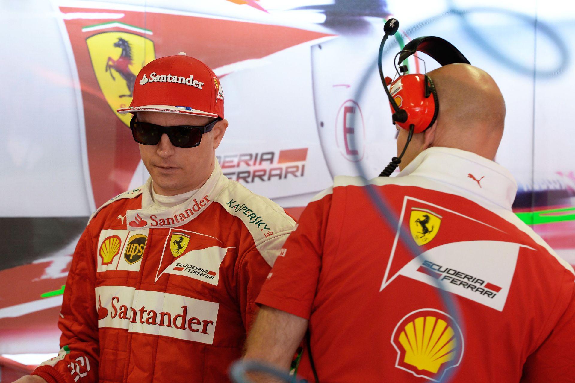 Räikkönen máris ellátogatott a dobogóra Szocsiban!