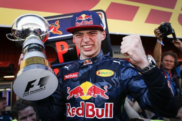 3 éve még gokartozott, most meg F1-es futamgyőztes: Max Verstappen