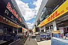 Feelinges kép a Red Bull Ringről: pakolásznak az F1-es csapatok