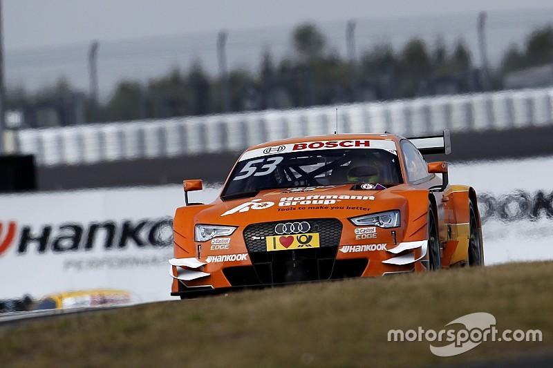 Audi-Fahrer Jamie Green erklärt Platztausch mit Edoardo Mortara