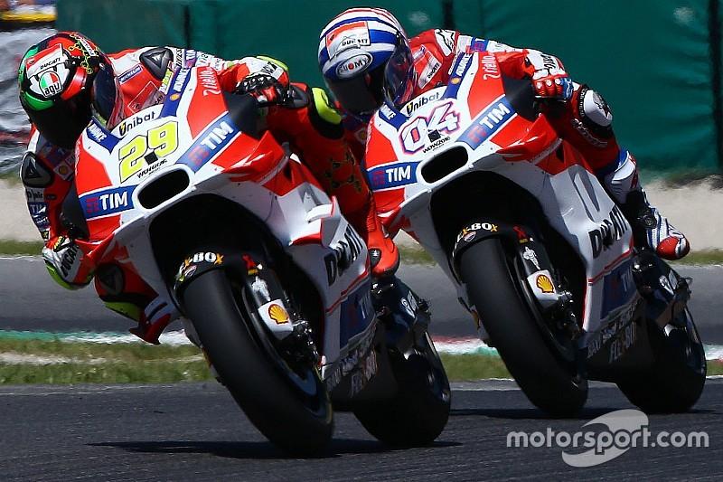 Ducati tak penuhi target pada paruh pertama musim