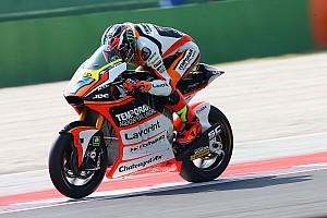 Moto2 Relato da corrida Baldassarri vence primeira; 2º, Rins se aproxima de Zarco