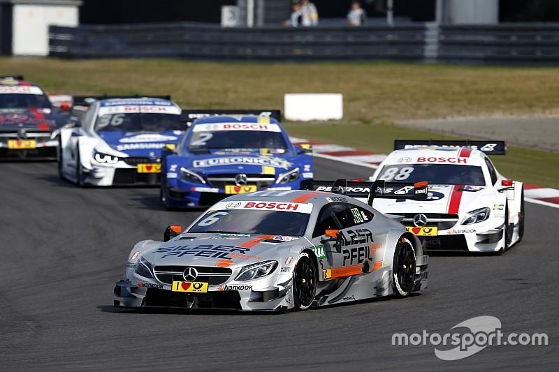 DTM am Nürburgring: Das Ergebnis des 2. Rennens in Bildern