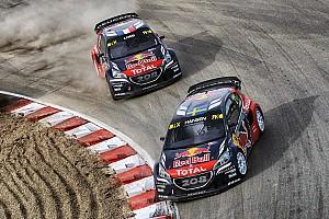World Rallycross Preview Peugeot en Espagne avec un objectif en tête