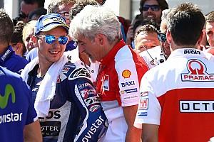 MotoGP Коментар Далл'Інья: Важко бути ворогом Россі