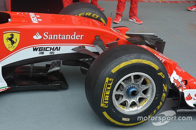 Analisis teknis ringkas: Sirip sasis Ferrari SF16-H