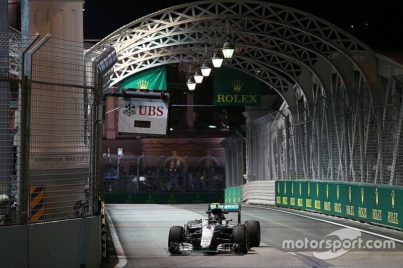 """Rosberg blijft voorzichtig: """"Red Bull en Ferrari sterk in lange runs"""""""