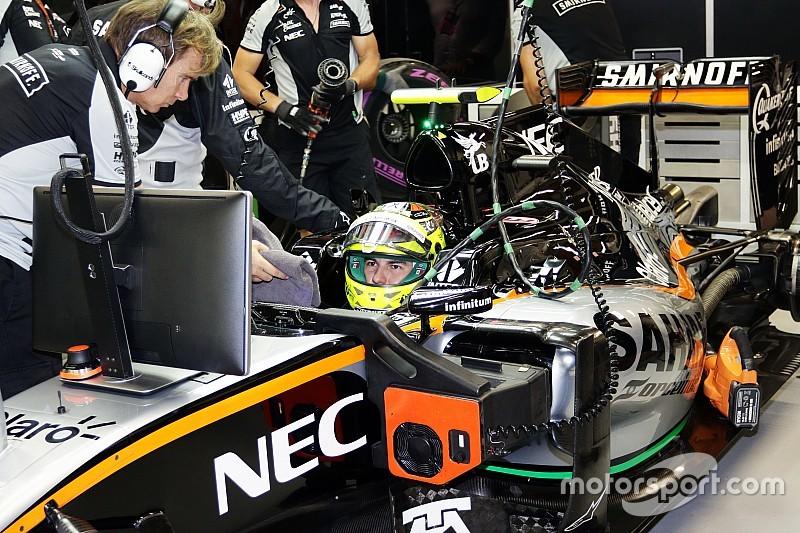 Perez krijgt gridstraf van acht plaatsen in Singapore