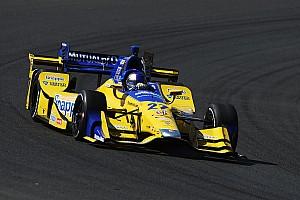 IndyCar Reporte de prácticas Andretti lidera la última práctica