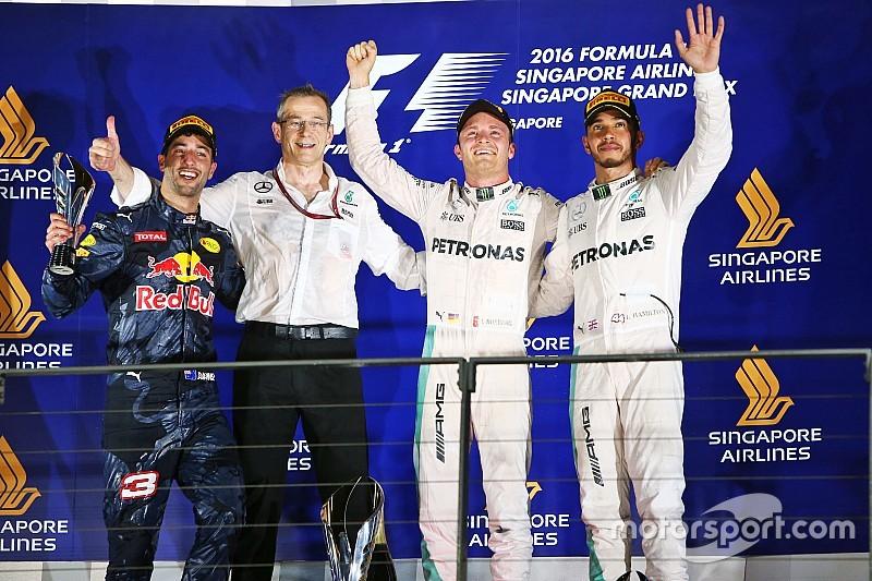 Formel 1 in Singapur: Nico Rosberg neuer König der Nacht