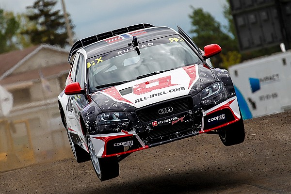 Rustad to compete with Munnich in Germany WRX