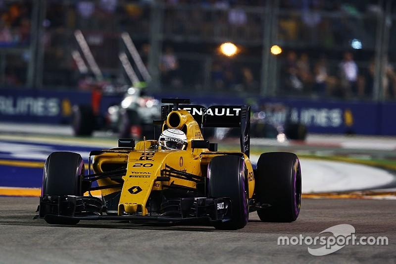 """Magnussen: """"Punt Singapore een boost voor Renault"""""""