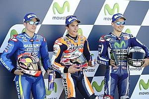 MotoGP Résultats La grille de départ du Grand Prix d'Aragón