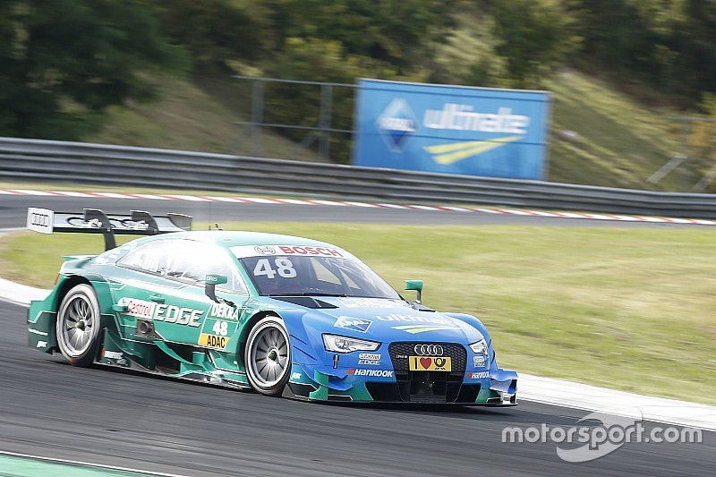 DTM in Budapest: Wieder Pole-Position für Audi-Titelkandidat Edoardo Mortara