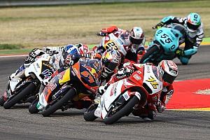 Moto3 レースレポート 尾野弘樹「フロントの振動が激しく、転ばないように走るのが精一杯だった」:Moto3アラゴン