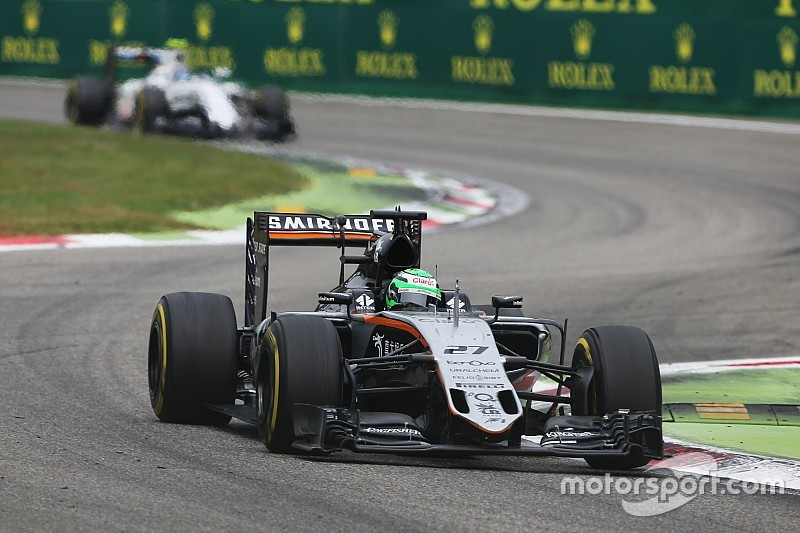 Force India cree que la batalla con Williams será hasta la última carrera