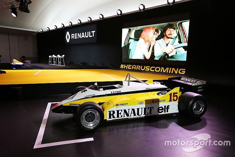 Renault F1: Вперед, в минуле!