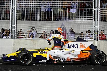 """Vor 8 Jahren: Renault inszeniert """"Crashgate"""" bei Formel-1-Premiere in Singapur"""