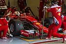 Los autos de prueba no reflejan el downforce de 2017, dice Vettel