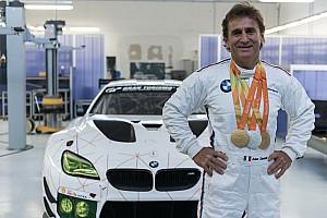 GT Nieuws Zanardi terug op het circuit: racet BMW M6 GT3 op Mugello