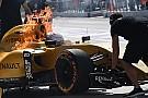 El incendio del Renault cuestiona la validez del Halo