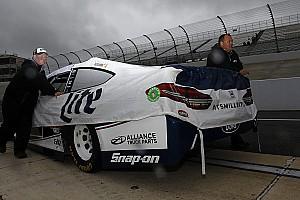 NASCAR Cup Qualifiche La pioggia impedisce lo svolgimento delle qualifiche. Keselowski in pole.